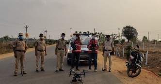 Cyient helps Cyberabad police with drone surveillance during lockdown