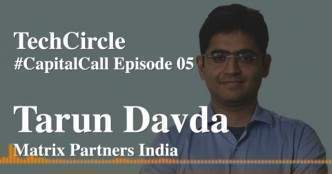 Listen: A flat round is the new up round (in this crisis) -- Tarun Davda, Matrix Partners India