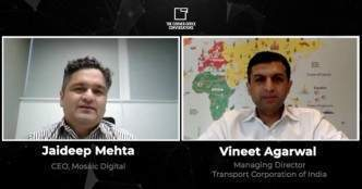 The Corner Office Conversations with Vineet Agarwal, Transport Corporation of India: Part 2