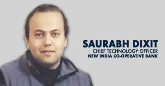Watch: CTO Saurabh Dixit on the digital transformation journey at New India Co-operative Bank
