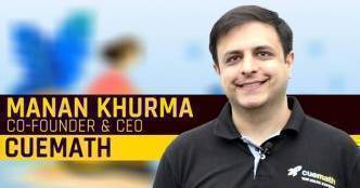 Watch: Manan Khurma on taking Cuemath global, pandemic tailwinds and 3X revenue growth