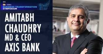 Watch: Amitabh Chaudhry on how the pandemic transformed operations at Axis Bank